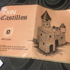 Juguetes antiguos Exin: EXIN CASTILLOS 0. SERIE AZUL. 248 PIEZAS, PRACTICAMENTE COMPLETO.. Lote 180078045