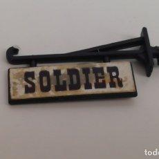 Juguetes antiguos Exin: CARTEL DE SOLDIER OESTE EXIN WEST. CARTEL EXINWEST. Lote 180115730