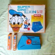 Juguetes antiguos Exin: CINEXIN + 2 PELICULAS.. Lote 181176027