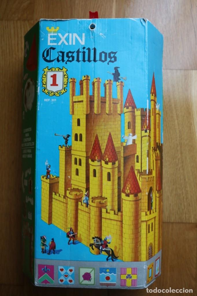 EXIN CASTILLOS Nº 1 SERIE AZUL COMPLETO EN CAJA (Juguetes - Marcas Clásicas - Exin)