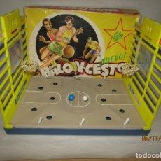 Juguetes antiguos Exin: ANTIGUO JUEGO DE BALONCESTO EXIN BASKET DE EXIN. Lote 182908960