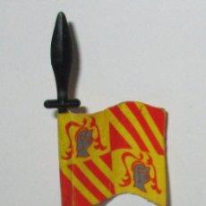 Juguetes antiguos Exin: EXIN CASTILLOS ORIGINAL AÑOS 70 MASTIL Y BANDERA. Lote 183314212
