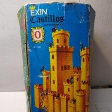 Juguetes antiguos Exin: EXIN CASTILLOS SERIE AZUL NÚMERO 0 EN CAJA ORIGINAL REF 200. Lote 184480533