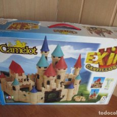 Juguetes antiguos Exin: EXIN CASTILLOS: MODELO CAMELOT (COMPLETO). Lote 186078841