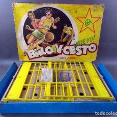 Juguetes antiguos Exin: BALONCESTO EXIN BASKET JUEGO MESA AÑOS 60 . Lote 187185092