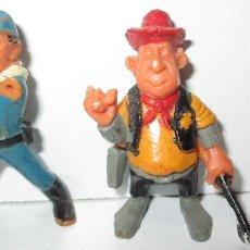 Brinquedos antigos Exin: EXIN WEST ORIGINAL 3 FIGURAS PERSONAJES OESTE. Lote 187526308
