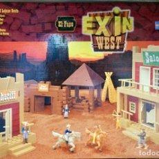 Juguetes antiguos Exin: EXIN WEST EL PASO. Lote 188445265