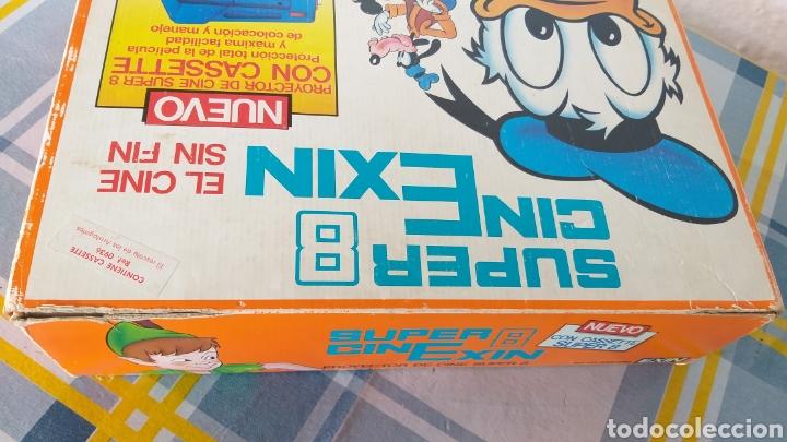 Juguetes antiguos Exin: SUPER CINEXIN AZUL CINE EXIN CON PELÍCULA. CINEEXIN SUPER 8 - Foto 3 - 253894895