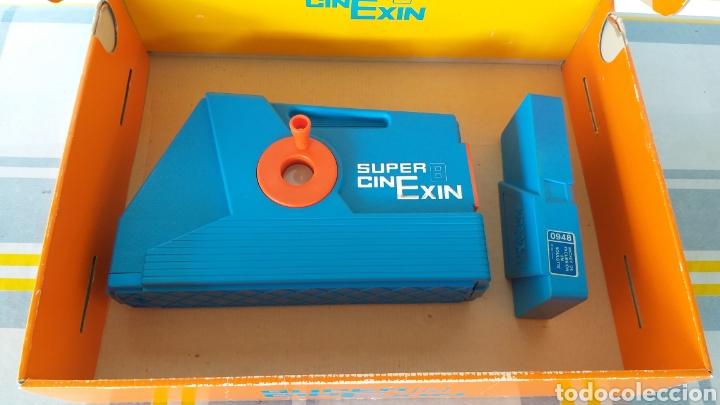 Juguetes antiguos Exin: SUPER CINEXIN AZUL CINE EXIN CON PELÍCULA. CINEEXIN SUPER 8 - Foto 13 - 253894895