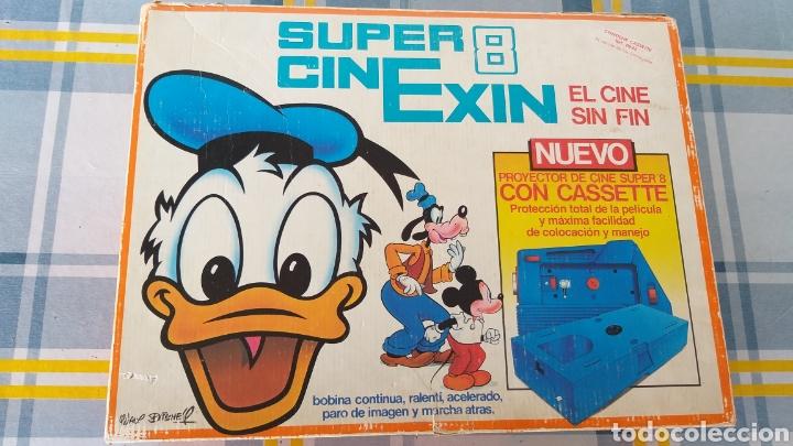 Juguetes antiguos Exin: SUPER CINEXIN AZUL CINE EXIN CON PELÍCULA. CINEEXIN SUPER 8 - Foto 14 - 253894895
