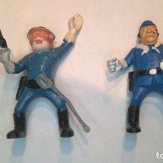 Brinquedos antigos Exin: EXIN WEST EXINWEST EXIN FAR WEST FIGURAS SOLDADO OFICIAL. NUEVAS. Lote 190030965