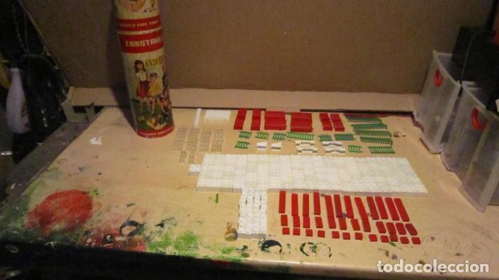 Juguetes antiguos Exin: ARQUITECTURA EXIN 1ª SERIE MODELO B 324 PIEZAS COMPLETO - Foto 4 - 191301496