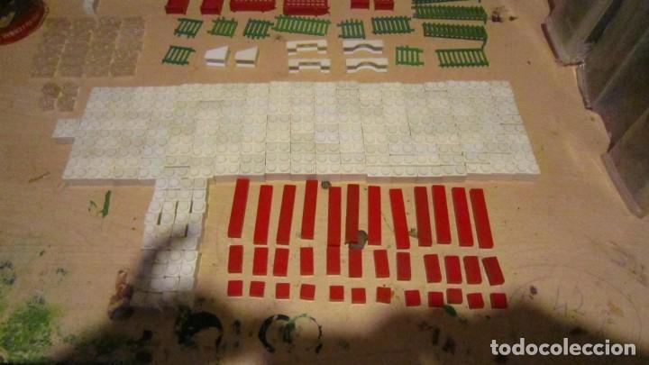 Juguetes antiguos Exin: ARQUITECTURA EXIN 1ª SERIE MODELO B 324 PIEZAS COMPLETO - Foto 5 - 191301496