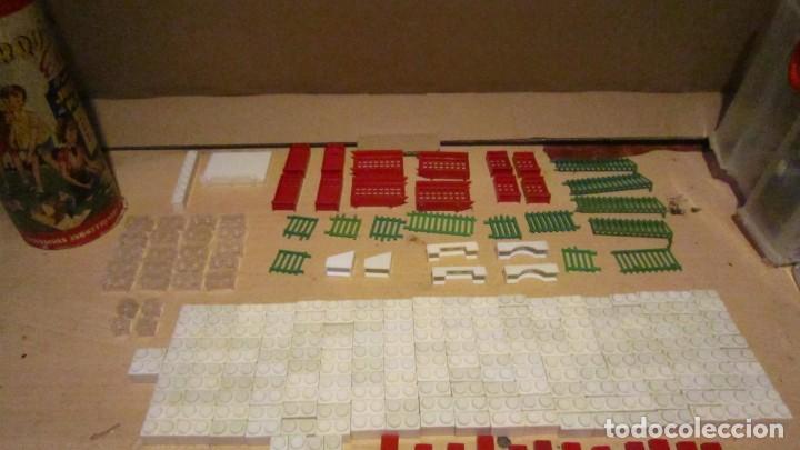 Juguetes antiguos Exin: ARQUITECTURA EXIN 1ª SERIE MODELO B 324 PIEZAS COMPLETO - Foto 7 - 191301496