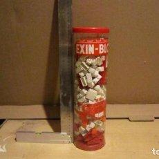 Juguetes antiguos Exin: ARQUITECTURA EXIN / EXIN BLOCK. REF 105 MUY COMPLETO. Lote 191302592