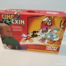Juguetes antiguos Exin: CINE EXIN POPULAR JUGUETES CON DOS PELICULAS EN CAJA COMPLETO CINEXIN. Lote 193085017