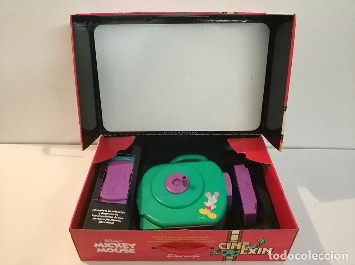 Juguetes antiguos Exin: cine exin popular juguetes con dos peliculas en caja completo cinexin - Foto 2 - 193085017