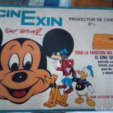 Juguetes antiguos Exin: CINEXIN PROYECTOR DE CINE 8M/M. Lote 193270018