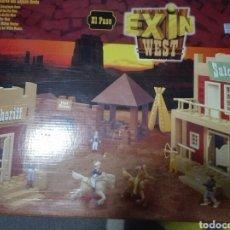 Juguetes antiguos Exin: EXIN WEST EL PASO. EN CAJA Y CASI COMPLETO. POPULAR DE JUGUETES. Lote 193899247