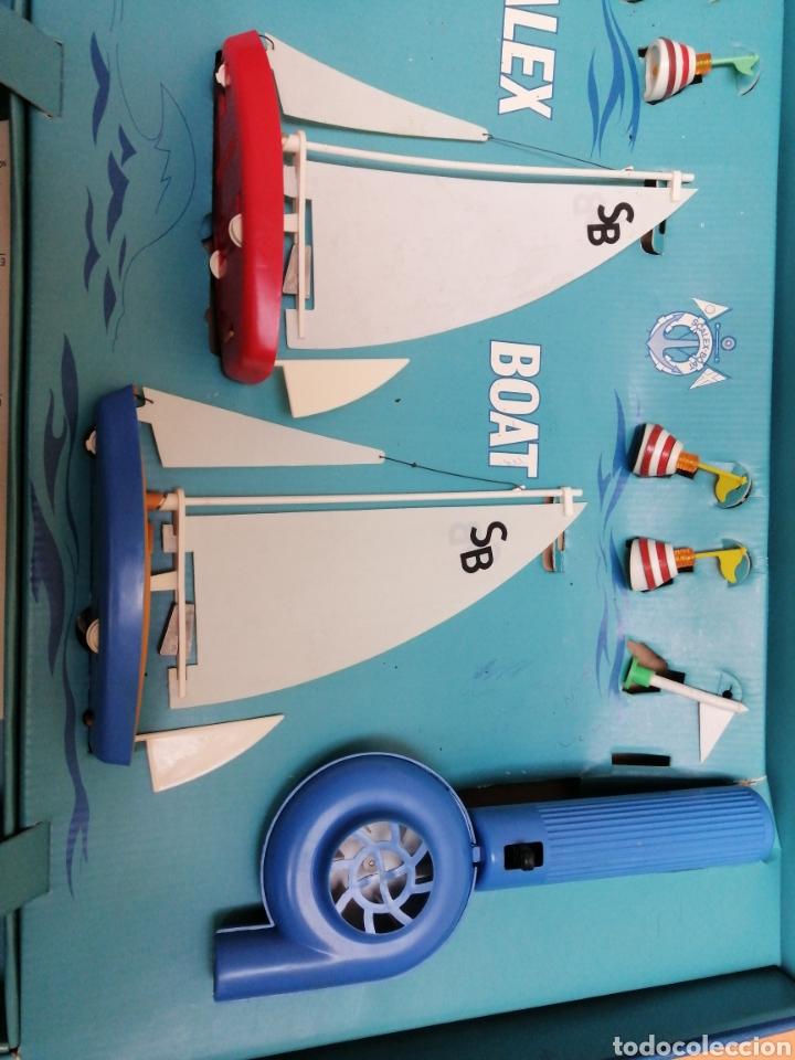Juguetes antiguos Exin: Scalex-boat ragatas de sobremesa - Foto 5 - 193939330