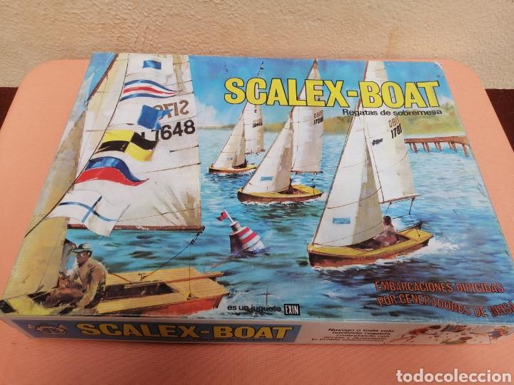 SCALEX-BOAT RAGATAS DE SOBREMESA (Juguetes - Marcas Clásicas - Exin)