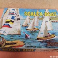 Juguetes antiguos Exin: SCALEX-BOAT RAGATAS DE SOBREMESA. Lote 193939330