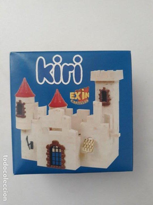 Juguetes antiguos Exin: Pequeña caja obsequio. Exin Castillos promoción de quesitos KIRI. Número 4 de 5 modelos. - Foto 2 - 194241463