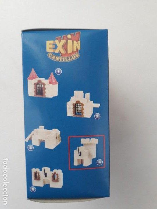 Juguetes antiguos Exin: Pequeña caja obsequio. Exin Castillos promoción de quesitos KIRI. Número 4 de 5 modelos. - Foto 3 - 194241463