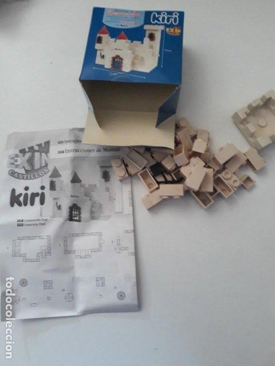 Juguetes antiguos Exin: Pequeña caja obsequio. Exin Castillos promoción de quesitos KIRI. Número 4 de 5 modelos. - Foto 5 - 194241463