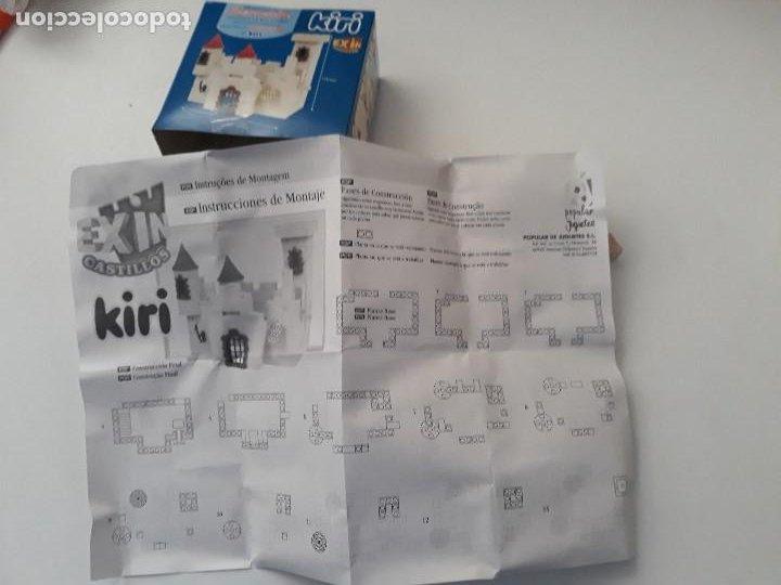 Juguetes antiguos Exin: Pequeña caja obsequio. Exin Castillos promoción de quesitos KIRI. Número 4 de 5 modelos. - Foto 8 - 194241463