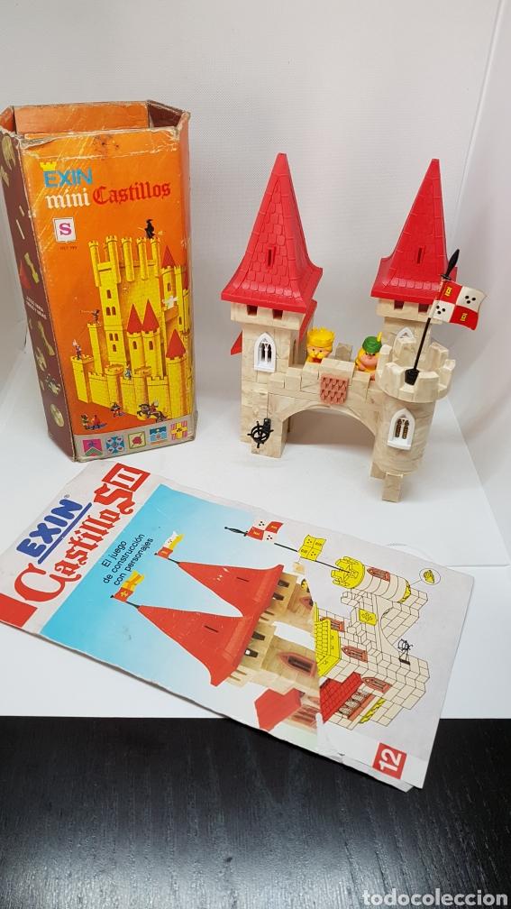 LOTE 2 EXIN CASTILLOS MINI S Y NUMERO II DE 1990 (Juguetes - Marcas Clásicas - Exin)