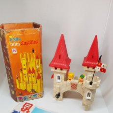 Juguetes antiguos Exin: LOTE EXIN CASTILLOS MINI S Y NUMERO II DE 1990. Lote 194380988