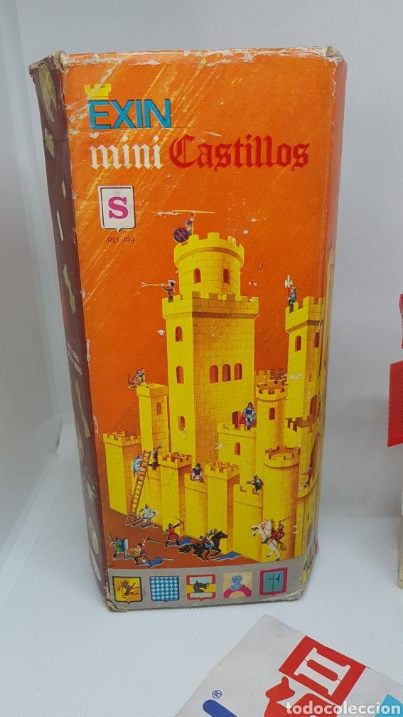 Juguetes antiguos Exin: LOTE 2 EXIN CASTILLOS MINI S Y NUMERO II DE 1990 - Foto 8 - 194380988