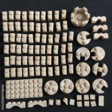 Juguetes antiguos Exin: LOTE 91 PIEZAS EXIN CASTILLOS ORIGINAL. Lote 194569843