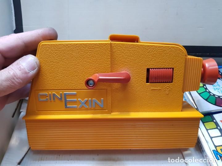 Juguetes antiguos Exin: Cinexin 8 mm en caja original y manual con varias películas - Foto 3 - 194882093
