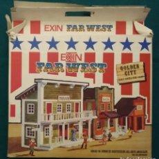Juguetes antiguos Exin: EXIN FAR WEST GOLDEN CITY REF. 2080. Lote 195012791
