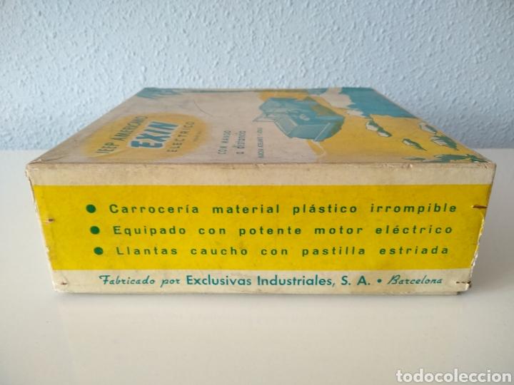 Juguetes antiguos Exin: EXIN, ANTIGUO JEEP AMERICANO ELECTRICO, CON CAJA - Foto 9 - 196280547