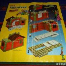 Brinquedos antigos Exin: EXIN FAR WEST INSTRUCCIONES SHERIFF'S OFFICE OFICINA DEL SHERIFF. 1975. RARAS. . Lote 196444941