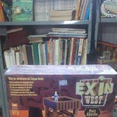 Juguetes antiguos Exin: EXIN WEST FORT APACHE POPULAR DE JUGUETES NUEVO A ENTRENAR. Lote 196566249