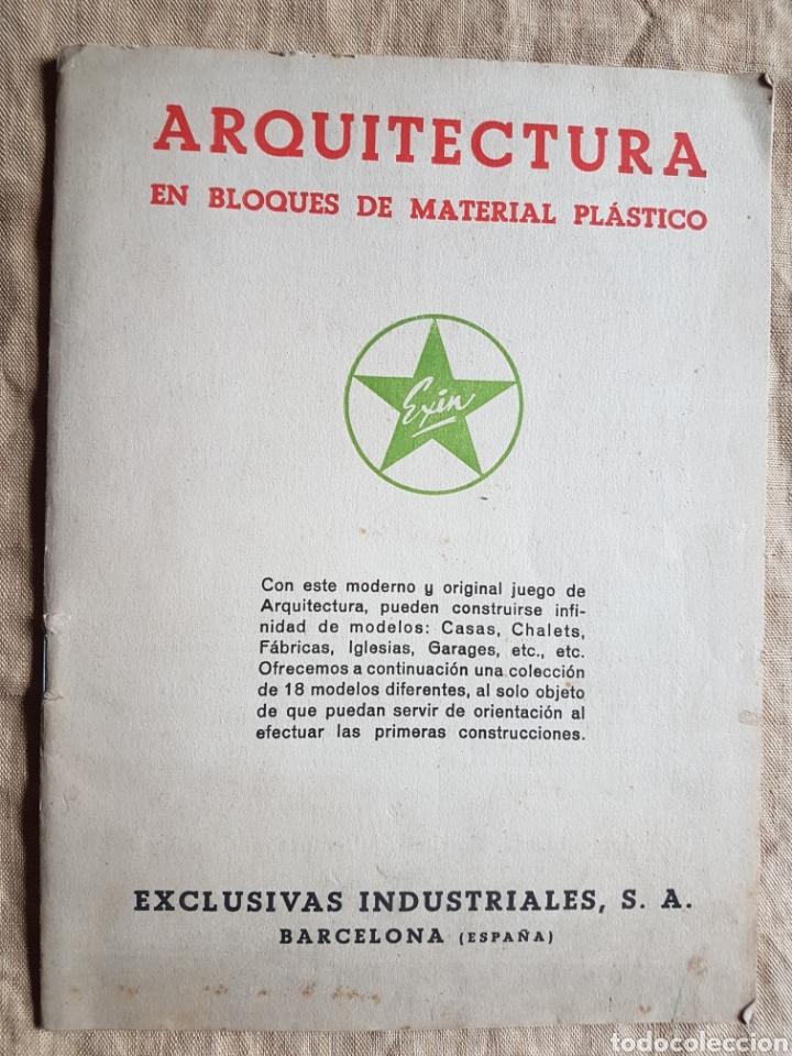 RARISIMO LIBRO ARQUITECTURA EXIN CASTILLOS W (Juguetes - Marcas Clásicas - Exin)