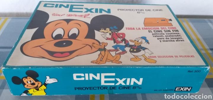 Juguetes antiguos Exin: CINEXIN NARANJA 8 PROYECTOR DE CINE SIN FIN EXIN AÑOS 70 EN BUEN ESTADO CON TRES PELÍCULAS - Foto 17 - 202265163