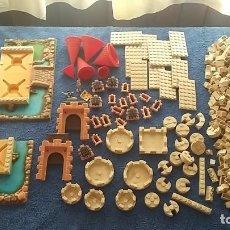Brinquedos antigos Exin: LOTE EXIN CASTILLOS ORIGINAL AÑOS 70. Lote 202898142