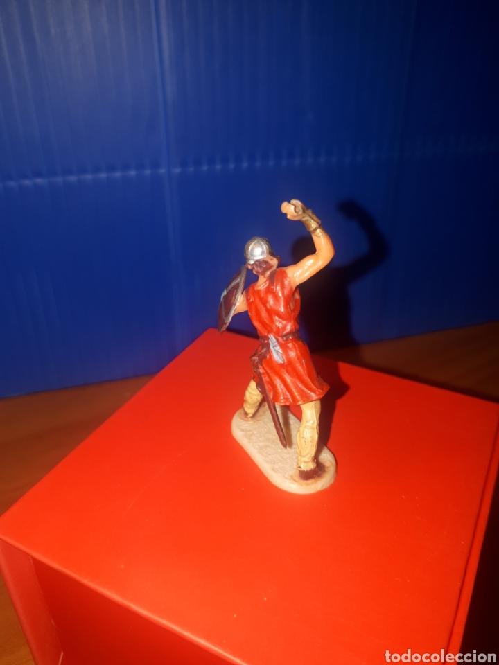 Juguetes antiguos Exin: EXIN CASTILLOS Vikingo, guerreros medievales de elastolin Historex, serie 4 cms. - Foto 3 - 203304082