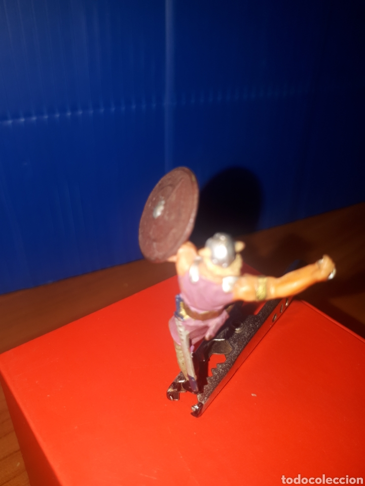 Juguetes antiguos Exin: EXIN CASTILLOS Vikingo, guerreros medievales de elastolin Historex, serie 4 cms. - Foto 3 - 203304681