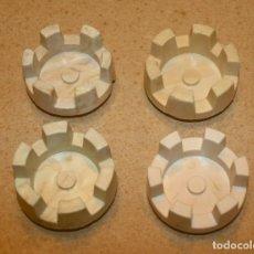 Juguetes antiguos Exin: 4 TORREONES REDONDOS PEQUEÑOS DE EXIN CASTILLOS. Lote 205591065