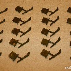 Juguetes antiguos Exin: 20 ANTORCHAS DE EXIN CASTILLOS. Lote 205594023