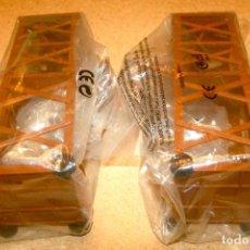 Juguetes antiguos Exin: 2 TORRES DE ASALTO DE EXIN CASTILLOS. Lote 205594277