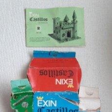 Giocattoli antichi Exin: LOTE EXIN CASTILLOS CON PIEZAS, FIGURAS, CAJA E INSTRUCCIONES. NÚMERO 2. REFERENCIA 202. Lote 205683033