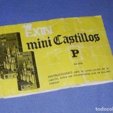 Juguetes antiguos Exin: ANTIGUO CATALOGO DE EXIN CASTILLOS ORIGINAL. Lote 205887416