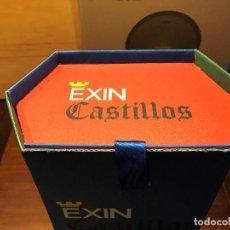 Brinquedos antigos Exin: CAJA EXIN CASTILLOS AZUL NUMERO 3. REPRODUCCION. NUEVA. CAJA VACIA.. Lote 206468481